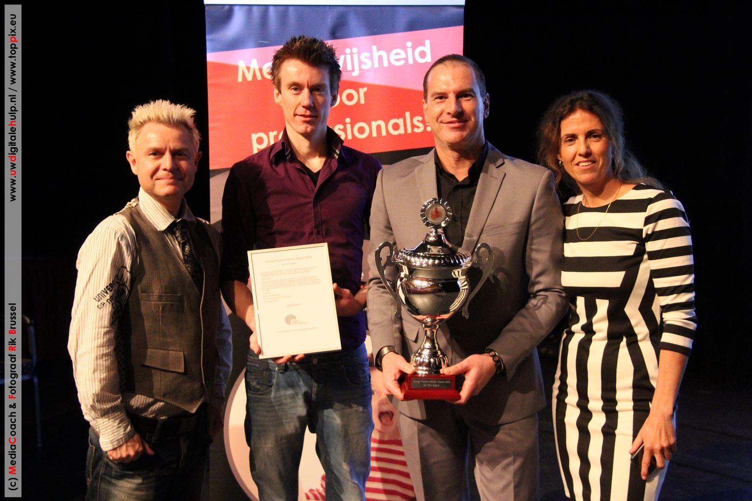 Uitreiking Positive Young Media Award 2013 De Film Ruben