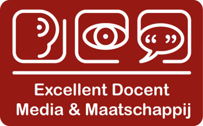 Logo Excellent docent Media en Maatschappij